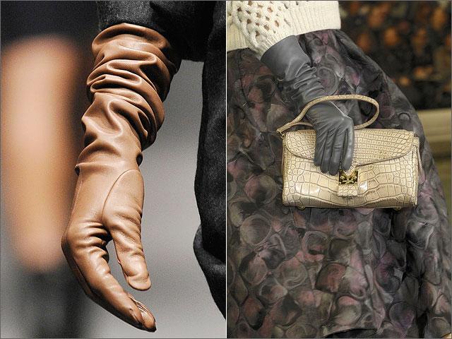Выбираем перчатки под шубу