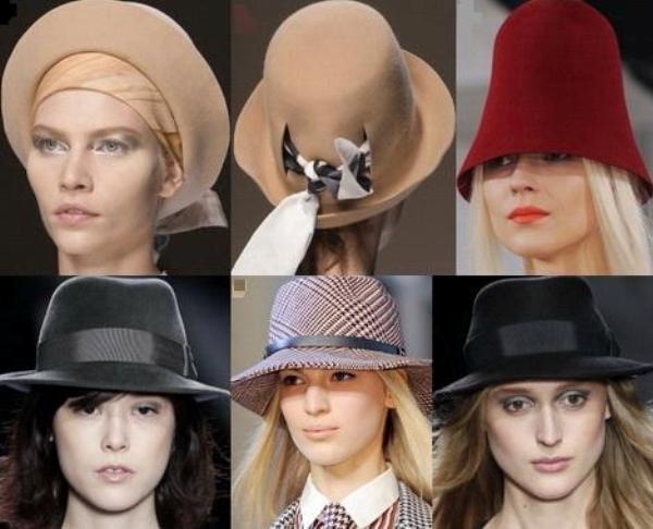 Выбираем шляпу под шубу